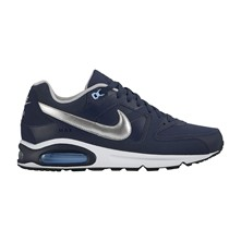 Air Max Command - Baskets en cuir - argent