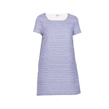 Robe tee-shirt - bleu