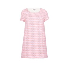 Robe tee-shirt - rose