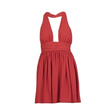 Robe baby-doll - rouge