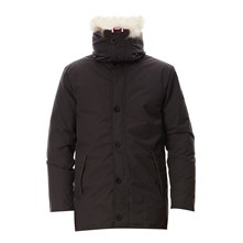 Hank - Manteau avec fourrure de coyote - anthracite