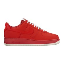 Air Force 1 - Baskets en cuir - rouge