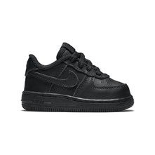 AIR FORCE 1 (TD) - Baskets en cuir - noir