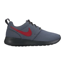 ROSHE ONE (GS) - Baskets basses en cuir mélangé - anthracite