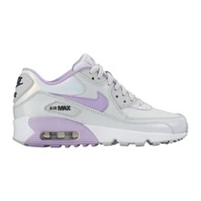 AIR MAX 90 SE LTR (GS) - Tennis en cuir - bicolore