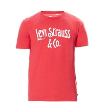 Graphic tee - T-shirt - rouge