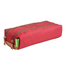 Trousse double - rouge