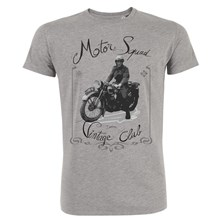 Motorcycle vintage - T-shirt - gris chine