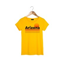 Arizona - T-shirt - jaune
