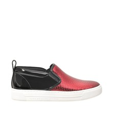 Cute Kicks - Baskets en cuir - rouge