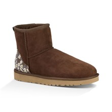 Classi Mini Liberty - Boots en peau de mouton double face - marron