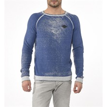 Tang - Sweat-shirt - bleu