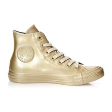 CTAS METALLIC RUBBER HI LIGHT GOLD/GOLD - Baskets montantes