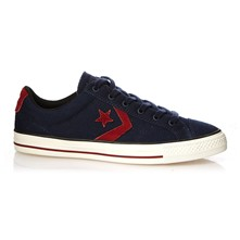 STAR PLAYER CANVAS OX OBSIDIAN/RED BLOCK - Baskets