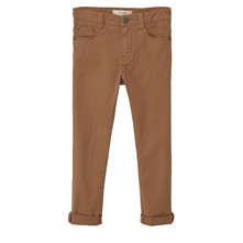 Pantalon droit - marron