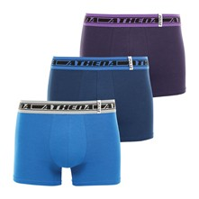 Pulse - Lot de 3 boxers - multicolore