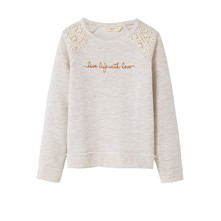 Sweat-shirt - beige