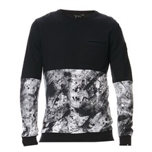 Sweacamo - Sweat-shirt - noir