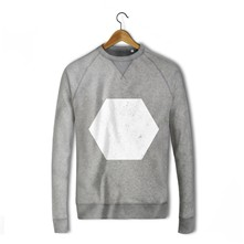 Hexagonal - Sweat-shirt - gris