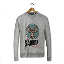 Sardina loca - Sweat-shirt - gris