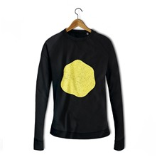 Oeuf au plat - Sweat-shirt - noir