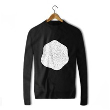 Blop blanc - Sweat-shirt - noir