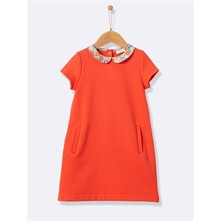 Robe chasuble - corail