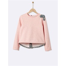 Sweat-shirt - rose