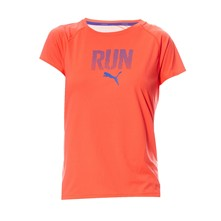 Tee-shirt running - orange
