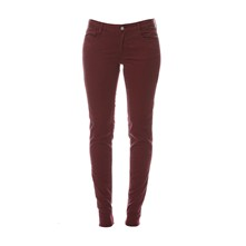 316 - Pantalon slim - bordeaux