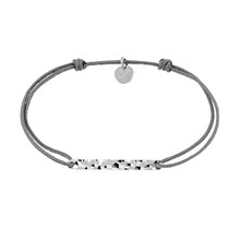 Bracelet fintion argent - multicolore