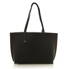 Flores - Sac shopping - noir