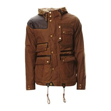 Waxed Mountain - Parka - marron