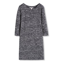 Robe droite - gris chine