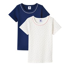 Lot de 2 T-shirts - rose