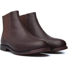 Bowie - Bottines en cuir - bordeaux