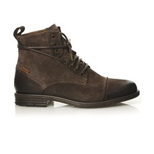 Emerson Lace Up - Boots en cuir - marron