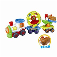 Tut Tut Animo - Super train fantastico-rigolo - multicolore