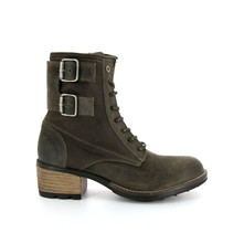 Cutty - Bottes en cuir - anthracite