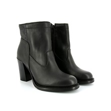 Holcomb - Bottines en cuir - noir