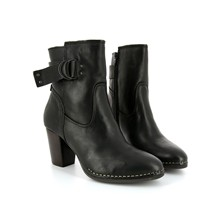 Offsite - Bottines en cuir - noir