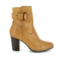Offsite - Bottines en cuir - camel
