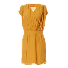 Robe fluide - ocre