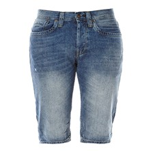Cash - Short - denim bleu