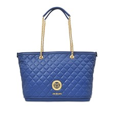 Super Quilted - Sac cabas - bleu