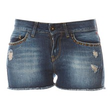 Lyndgal - Short en jean - denim bleu