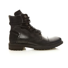 RESCUE - Bottines en cuir - noir