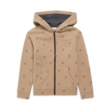 Sweat à capuche - beige
