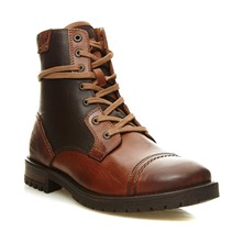 Zarvey - Boots en cuir - marron