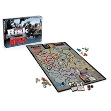 The walking dead - Risk - le jeu - multicolore
